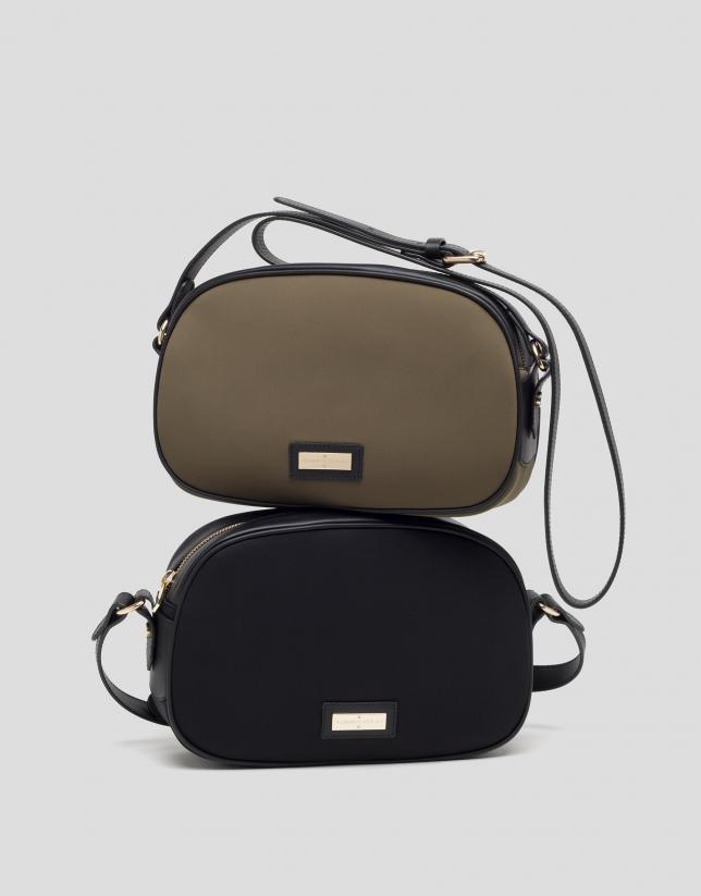 Black neoprene Neox shoulder bag