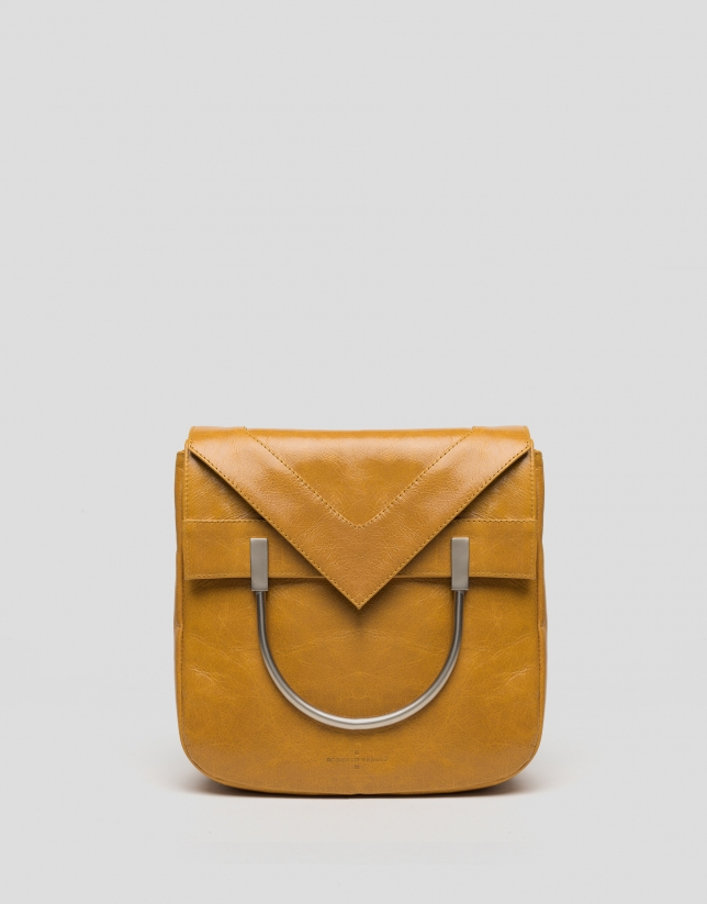 Taffy leather Claude bag