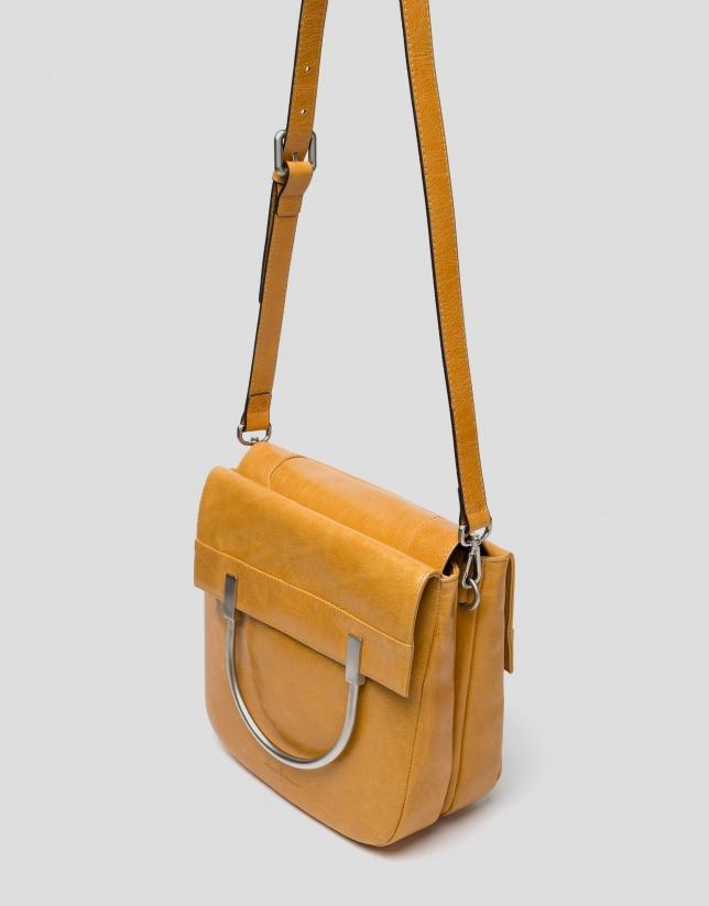 Taffy leather Claude bag