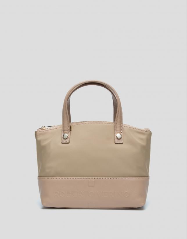Beige Simone nano handbag