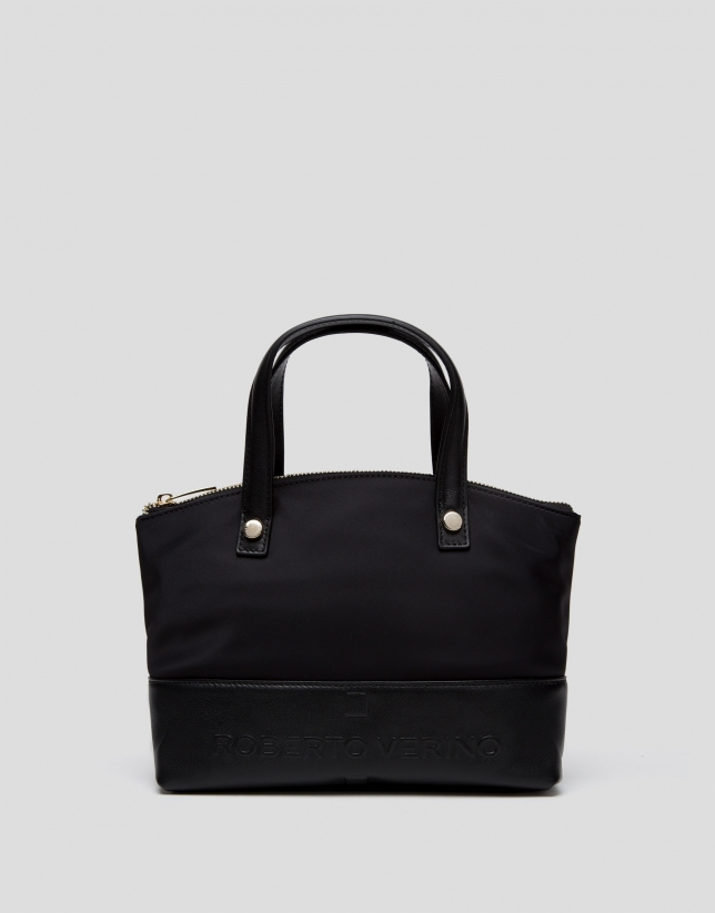Black Simone nano handbag