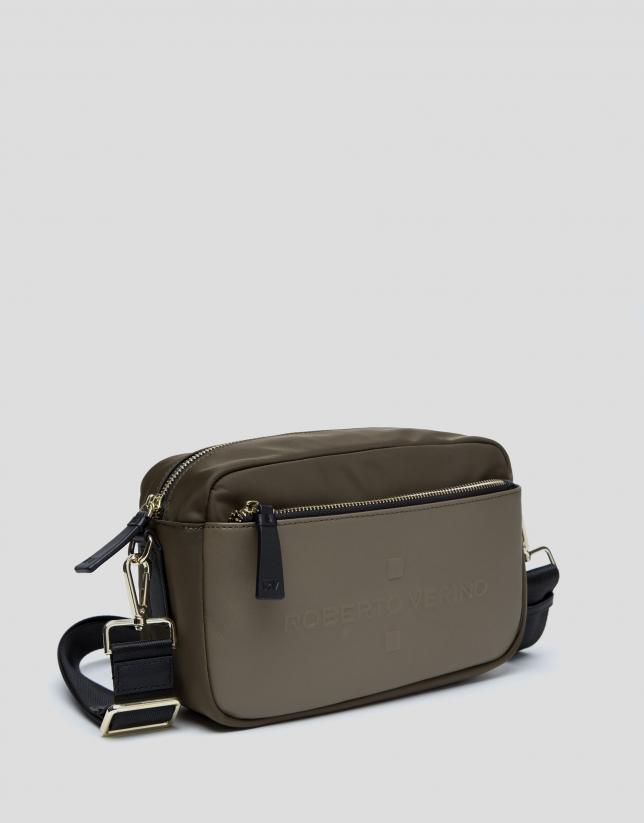 Khaki Simone shoulder bag
