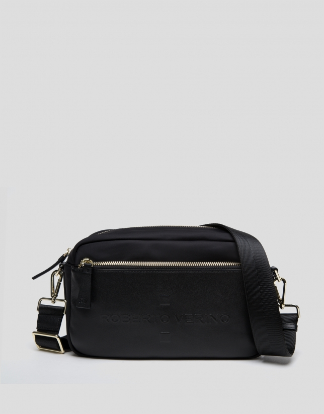 Black Simone shoulder bag