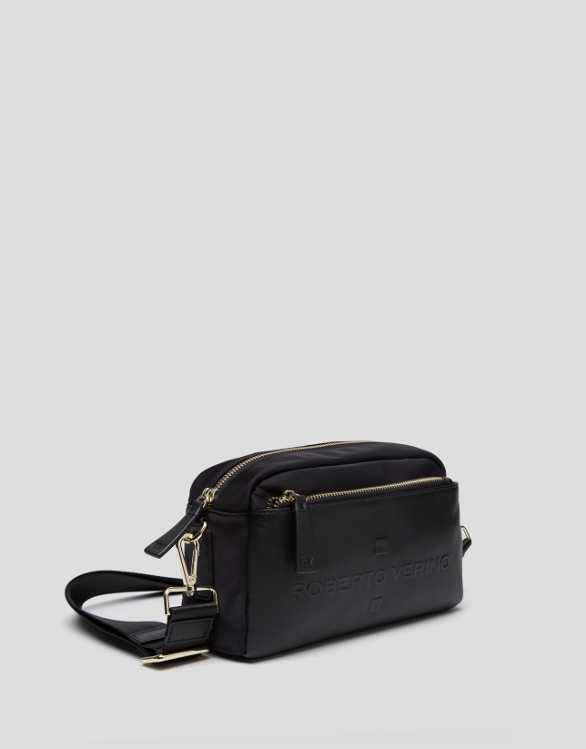 Black Simone small shoulder bag