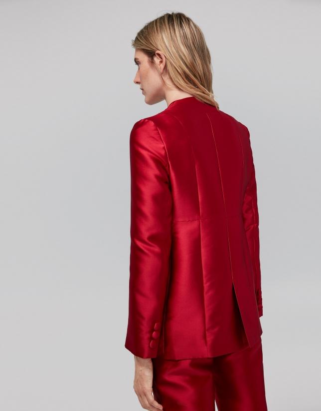 Americana seda roja