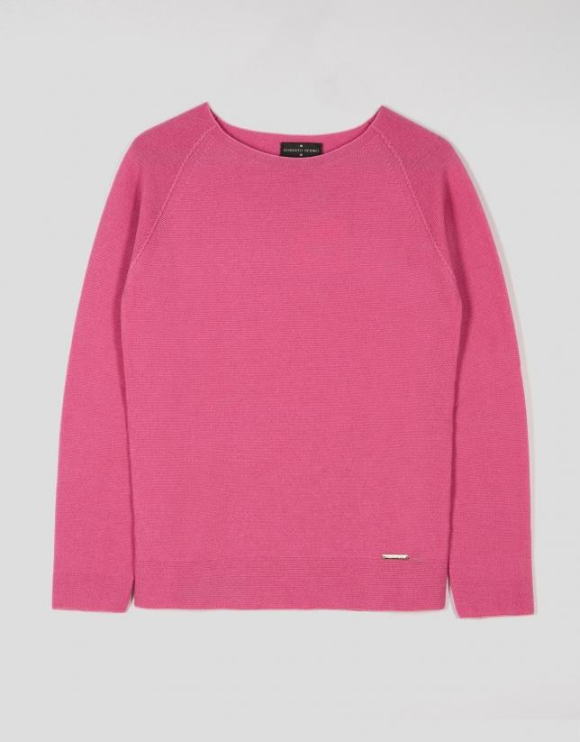 Petunia wool sweater with raglan sleeves