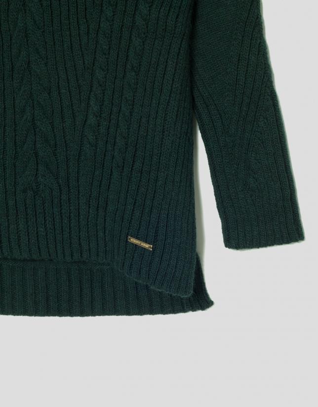 Jersey oversize verde
