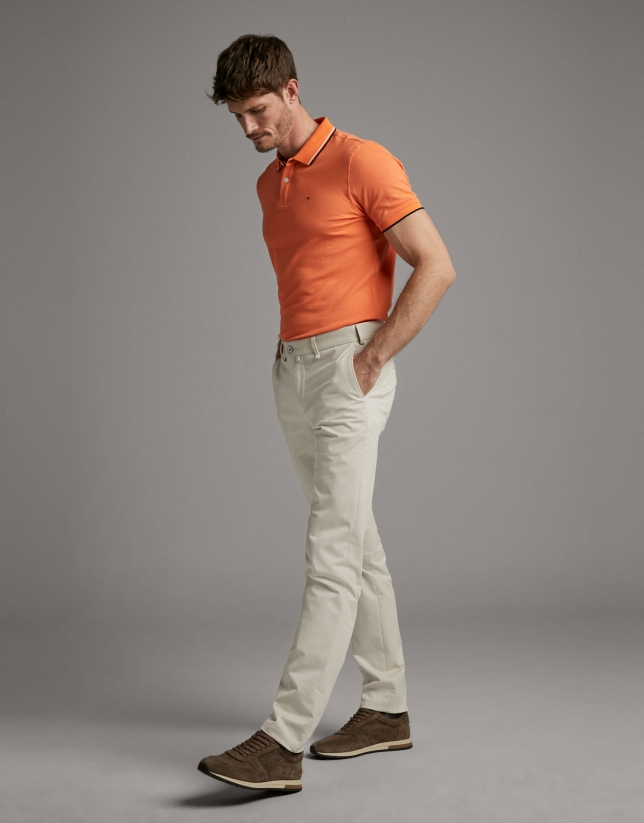 Light beige chinos