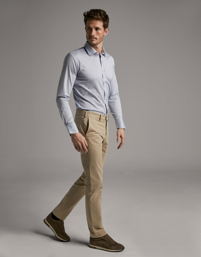 Light camel chinos