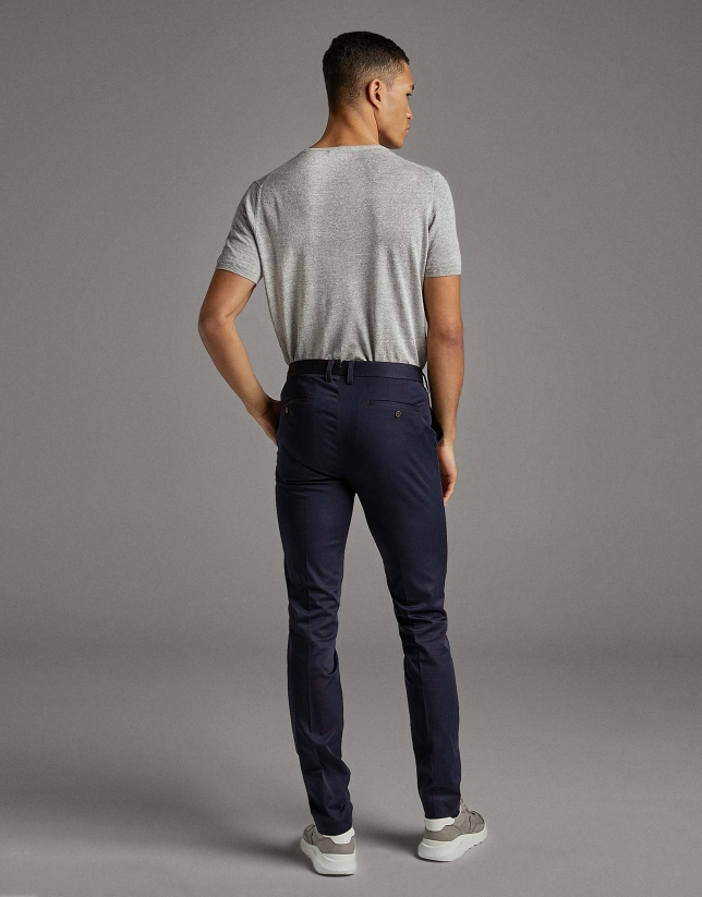 Navy blue chinos separate