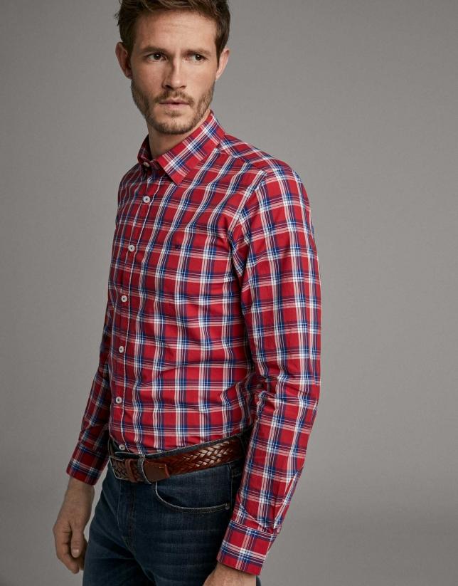 Camisa hombre cuadros