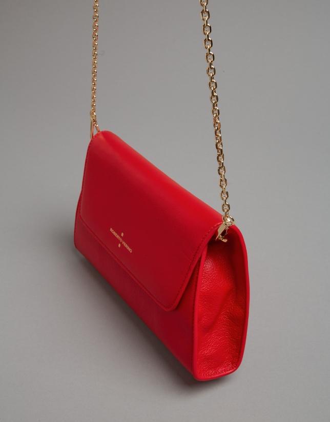 Red napa Goodly handbag