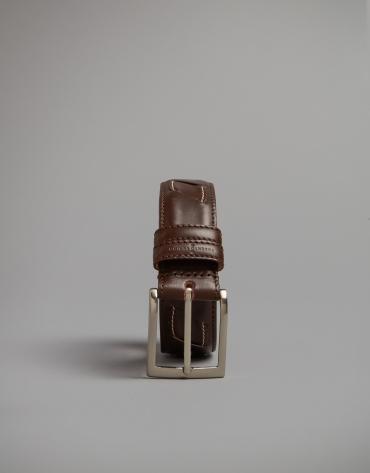 Cinturón trabajado marrón