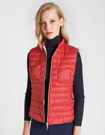 Poppy quilted vest