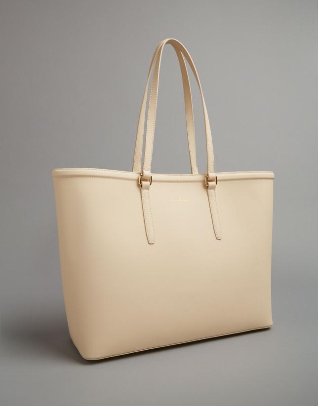 Shopper Bombed beige