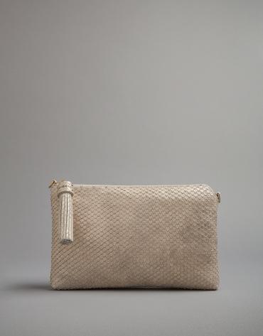 Shiny Lisa clutch bag