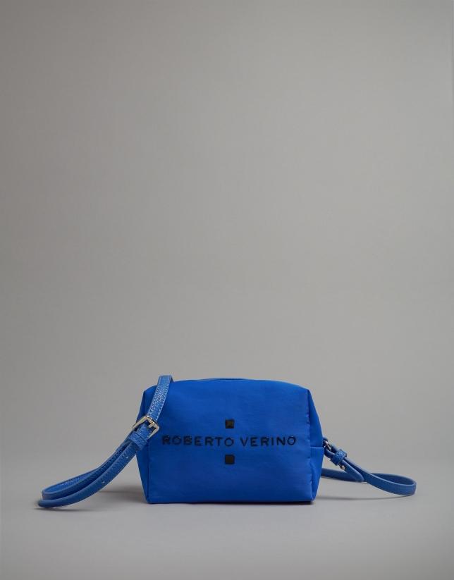 Sac à bandoulière mini Wax bleu