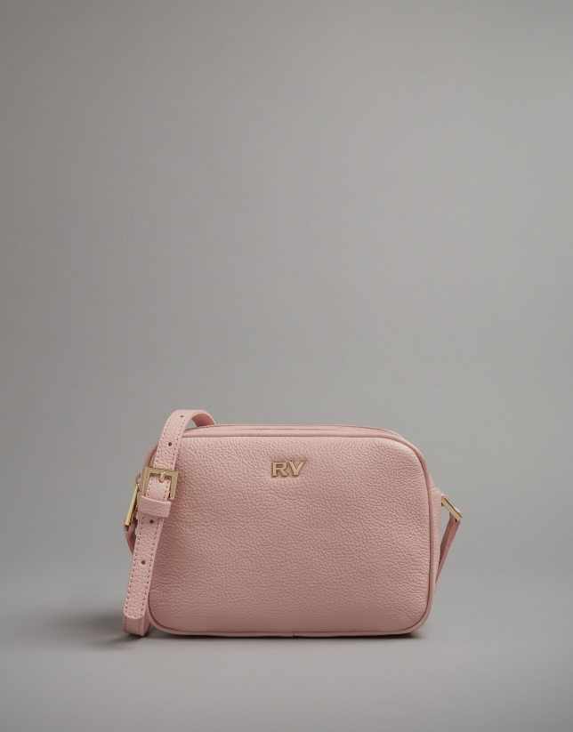 Pale pik leather Taylor shoulder bag