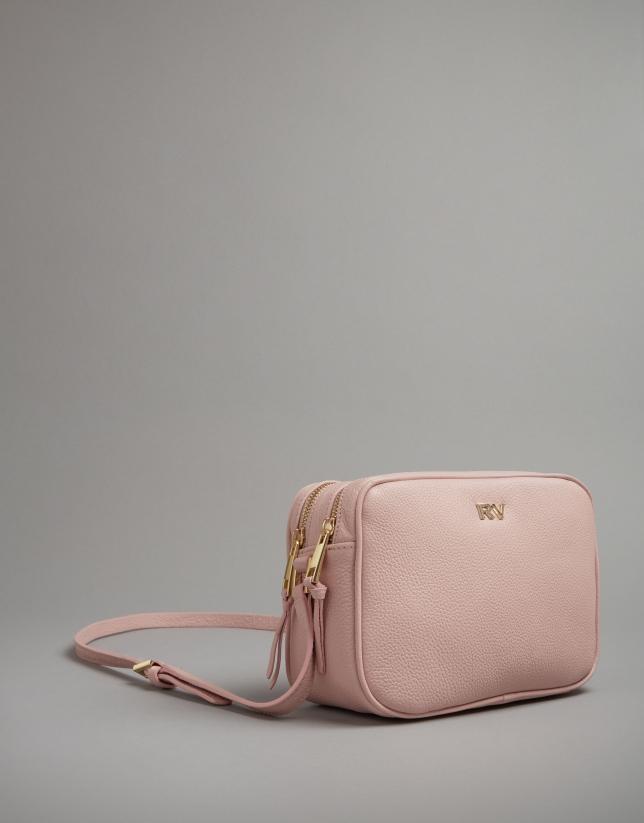 Pale pik leather Taylor shoulder bag