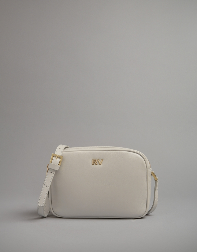 Light beige leather Taylor shoulder bag