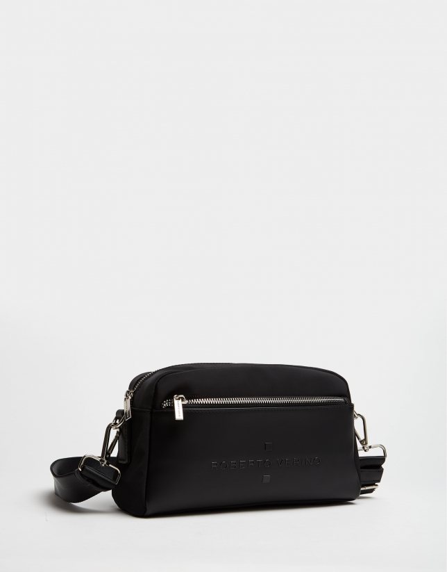 Black naylon shoulder Roxy Midi