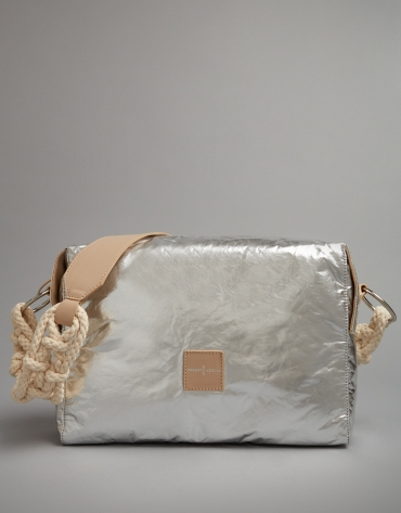 Silver shoulder bag Margot City