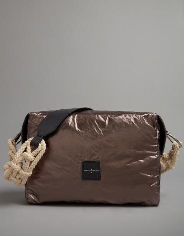 Smoke grey shoulder bag Margot City