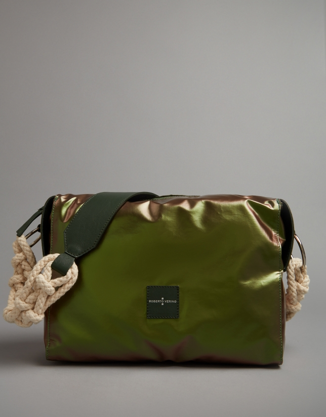 Bolso bandolera Margot city bag verde