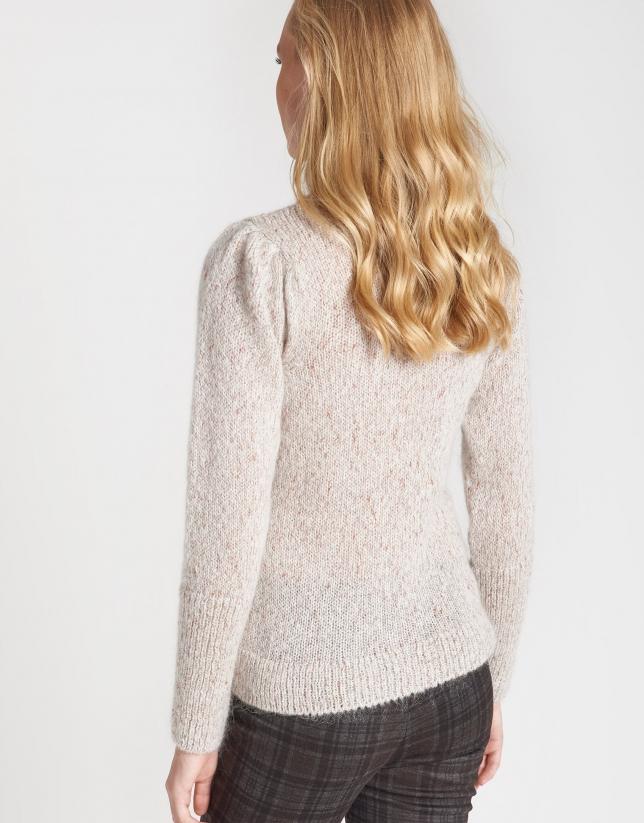 Gold fine knit sweater