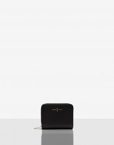 Medium black Saffiano leather Juliete billfold