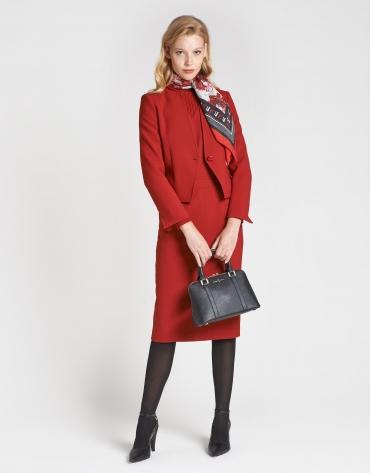 Black Saffiano leather Lupita handbag