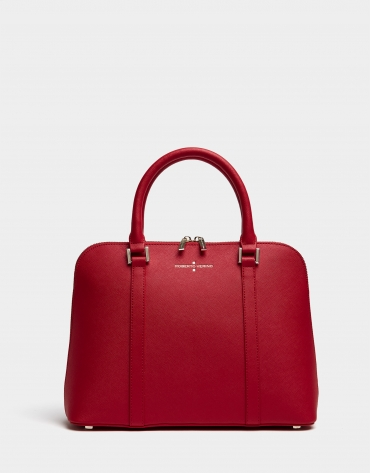 Red Maxi Lupita tote bag