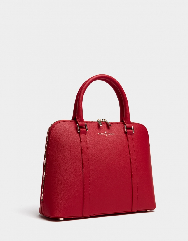 Red Maxi Lupita tote bag