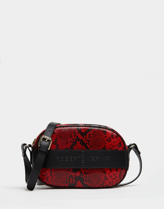 Snakeskin print Neox shoulder bag
