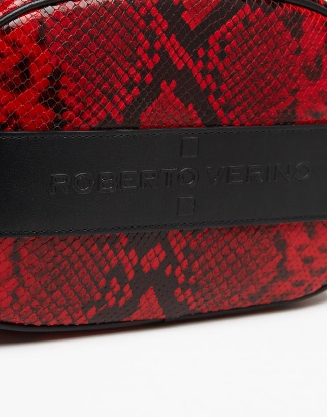Snakeskin print Neox shoulder bag