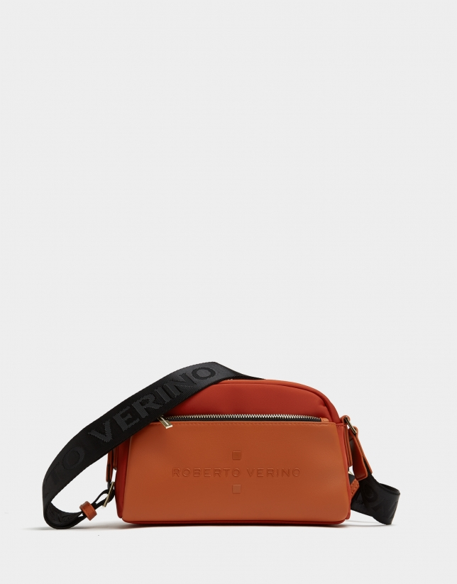 Burnt orange naylon shoulder Simoneta Nano