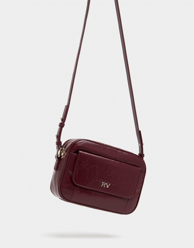Burgundy Taylor Ones shoulder bag