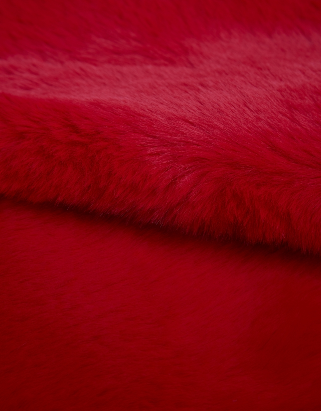 Cuello pelo rojo