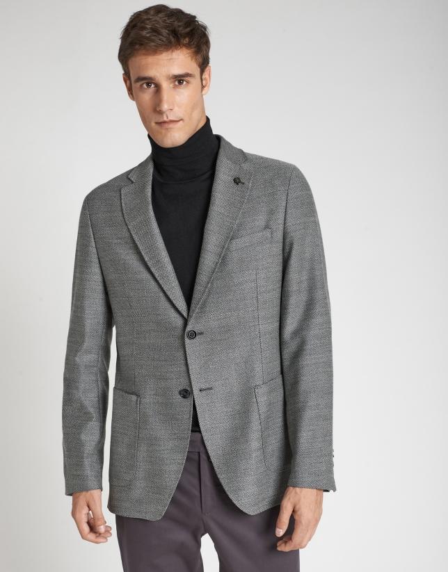 Americana lana gris