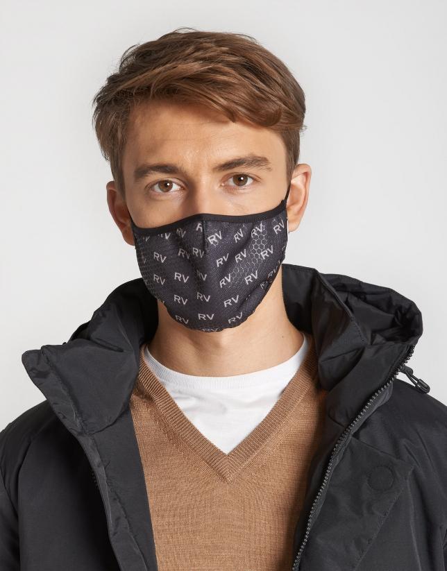 Black RV logos mask
