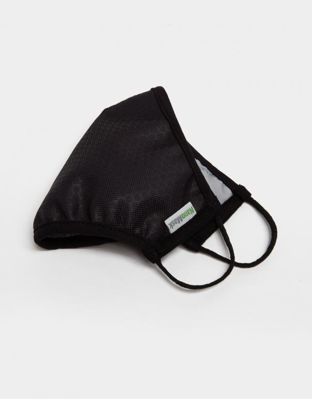 Mascarilla negra escudo RV