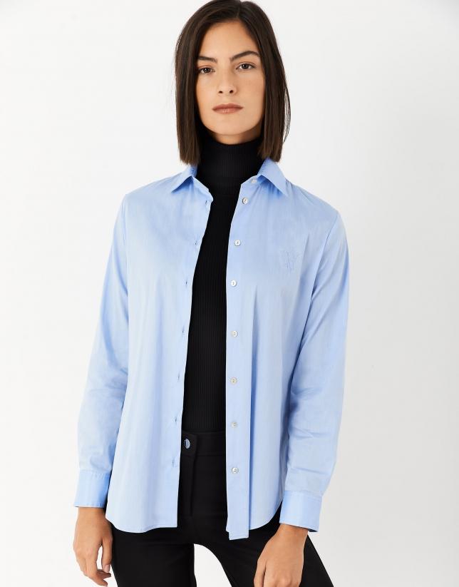 Light blue men's shirt