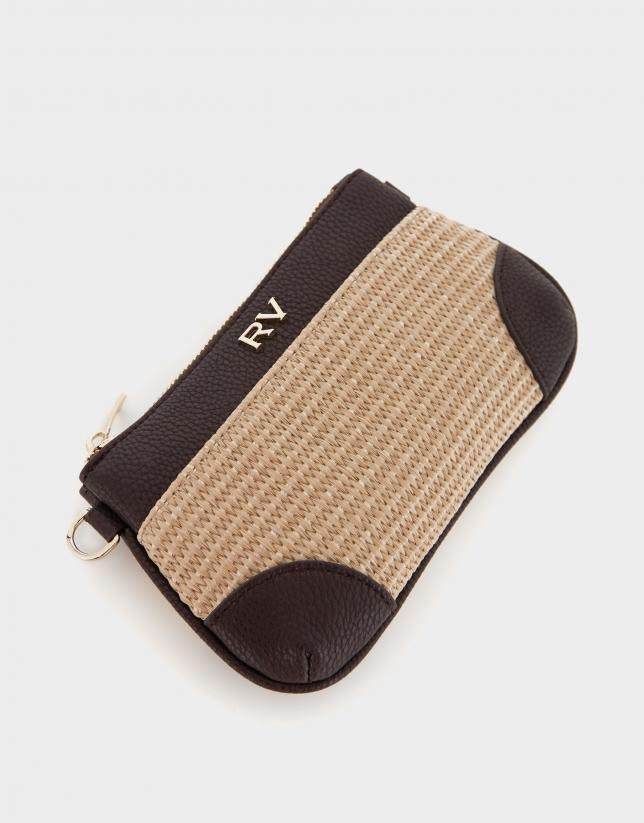 Mini bolso pocket natural