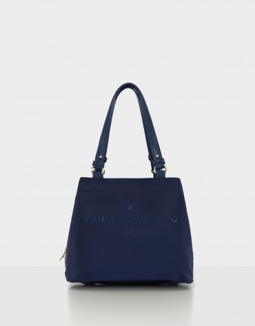 Blue nylon Roxy S hobo bag