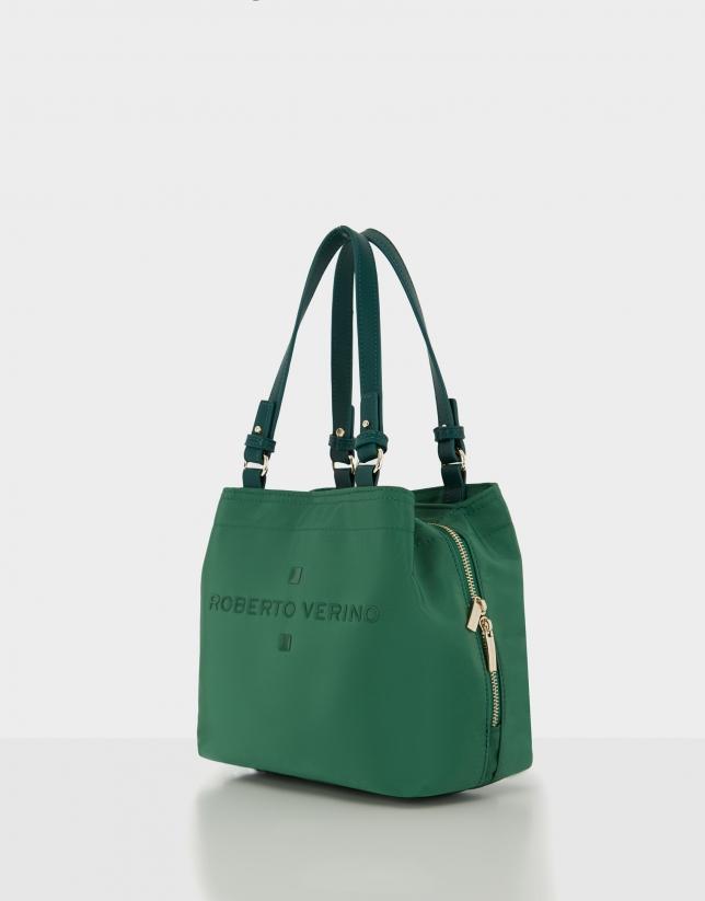 Green nylon Roxy S hobo bag