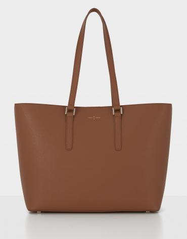 Bolso shopper Liliam bag marrón