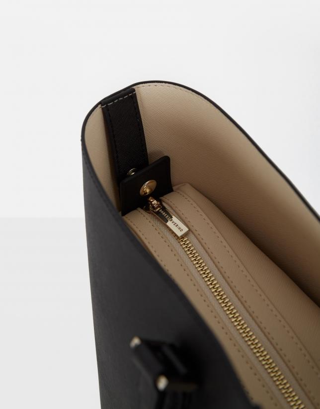 Black Liliam shopping bag