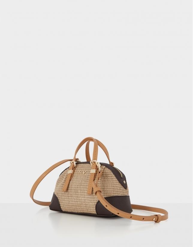 Cream mini bag