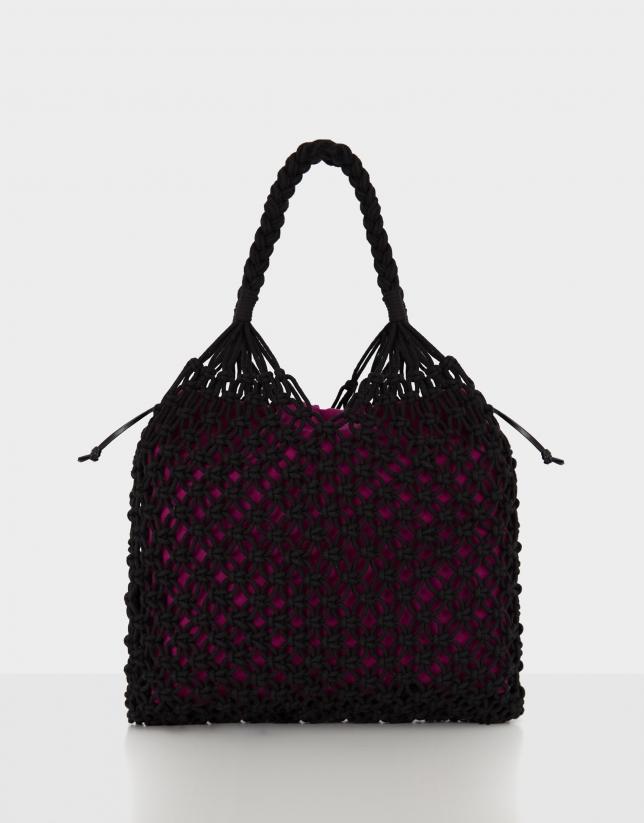 Black Net handbag