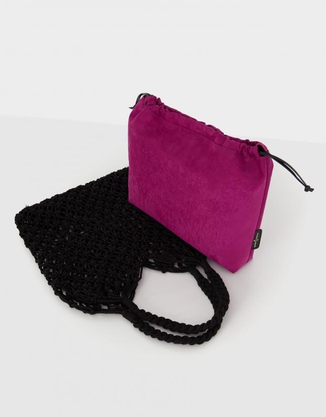 Bolso de mano Net Bag negro